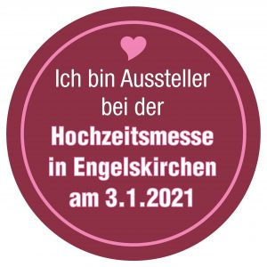 Button Hochzeitsmesse Engelskirchen 2021